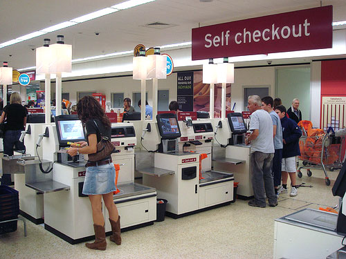 Self-Checkout Machines